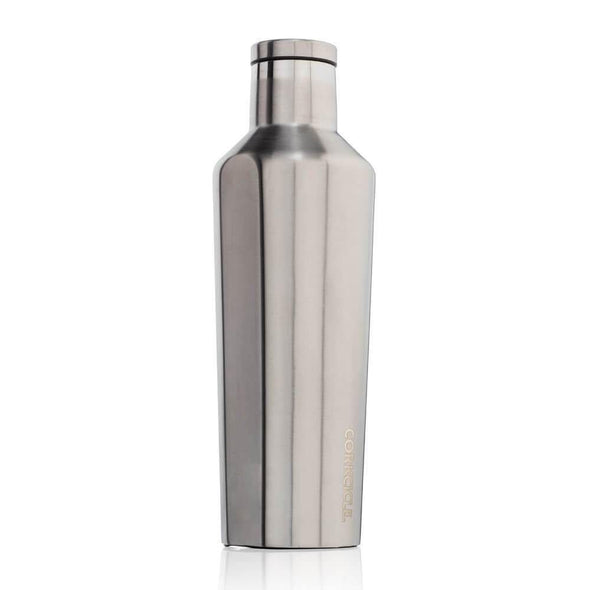 Corkcicle Canteen Water Bottle Silver 16oz (473ml) - Upcycle Studio