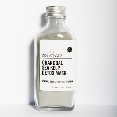 Zen Botanics Charcoal & Sea Kelp Detox Face Mask - Upcycle Studio