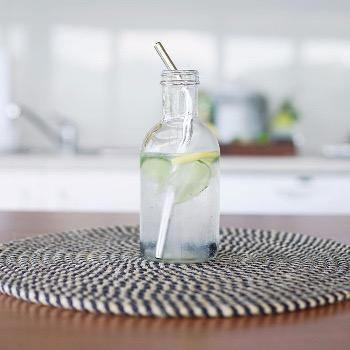 Evergreen Stainless Steel Straws - Bent
