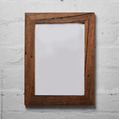 Mulbury Oiled Reclaimed Timber Photo Frame - Upcycle Studio