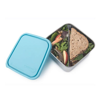 U.Konserve To-Go Large Sandwich Divided Container - Sky - Upcycle Studio