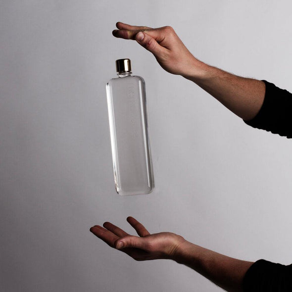 Memobottle Slim & Tall Water Bottle 450ml - Upcycle Studio