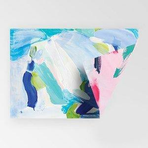 Rachel Kennedy Gift Wrap - Double-Sided Abstract - Upcycle Studio
