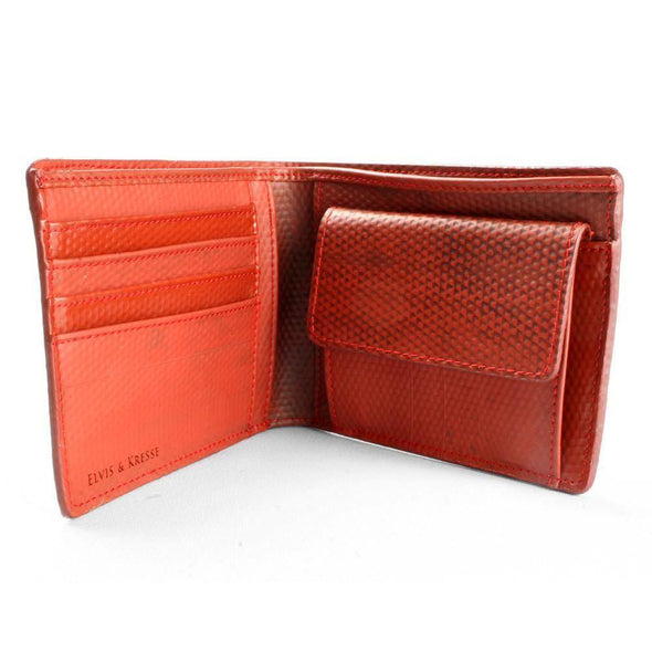 Elvis & Kresse Billfold Fire Hose Wallet with Coin Pocket - Upcycle Studio