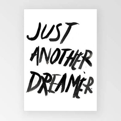 Rachel Kennedy Print - Just Another Dreamer - Upcycle Studio