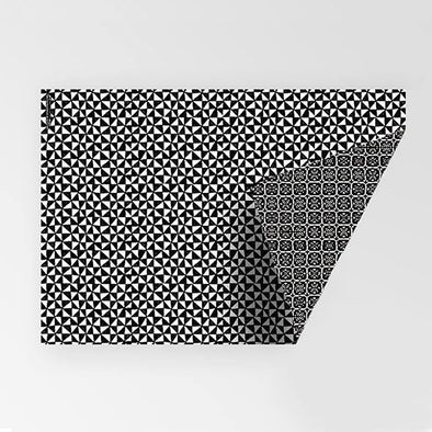 Rachel Kennedy Gift Wrap - Double-Sided B&W - Upcycle Studio