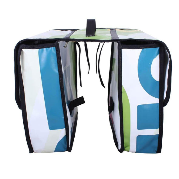 Green Guru Double Dutch Dual 40L Bike Pannier - Upcycle Studio