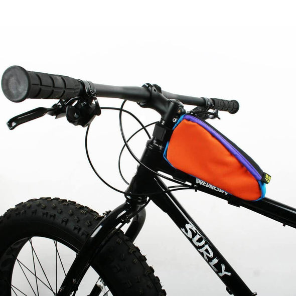 Green Guru Stasher Top Tube Frame Bike Bag - Upcycle Studio