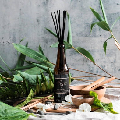 Mojo Beer Bottle Diffuser Himalayan Bamboo - Upcycle Studio