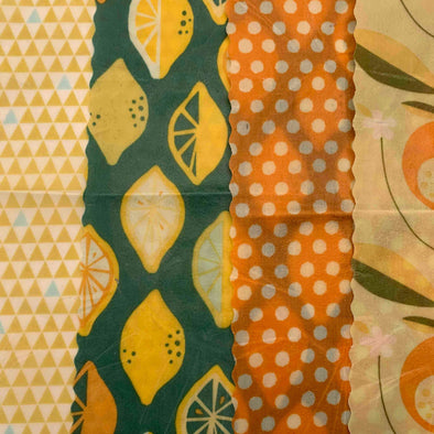 Juice - Apiwrap Reusable Beeswax Wraps - Upcycle Studio