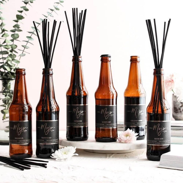 Mojo Beer Bottle Diffuser Fresh Water - Upcycle Studio