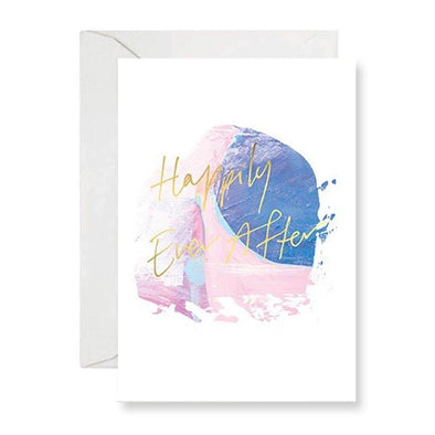 Rachel Kennedy Card - Happily Ever After - Wedding Card - Upcycle Studio
