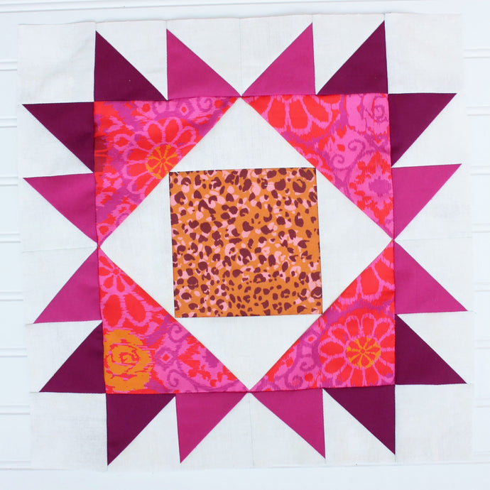 Block #10: Whatchamacallit Quilt