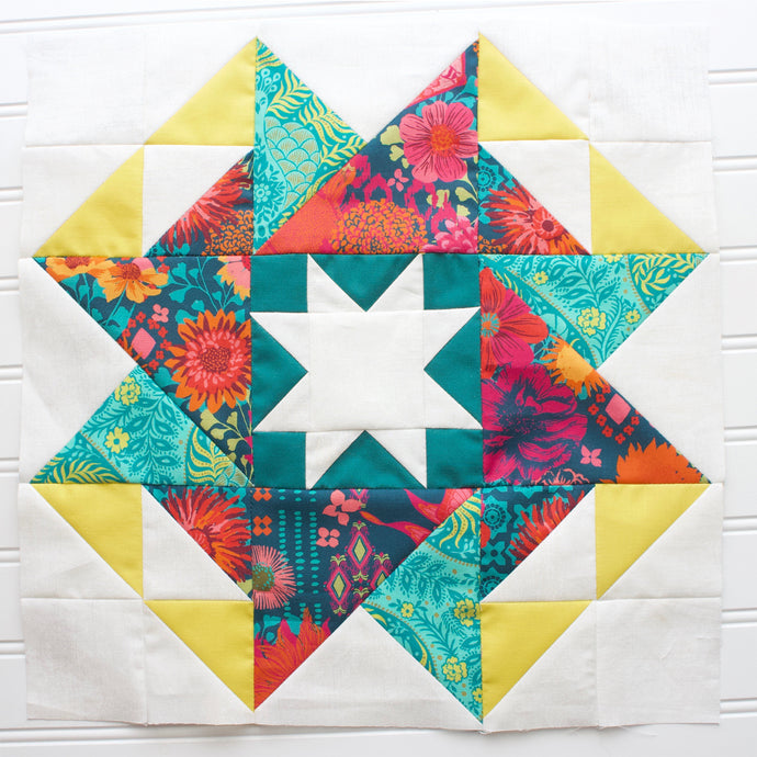 Block #12: Whatchamacallit Quilt