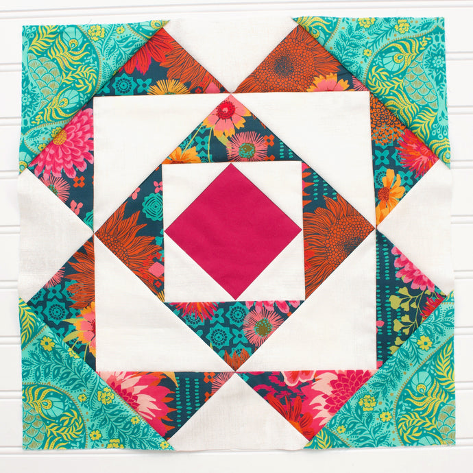 Block #5: Whatchamacallit Quilt