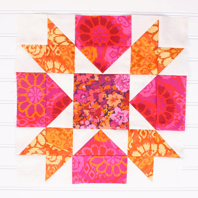 Block #9: Whatchamacallit Quilt