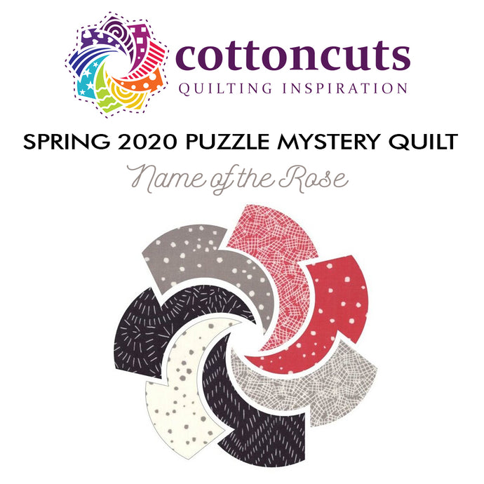 Cotton Cuts Puzzle Mystery Quilt, Clue 1