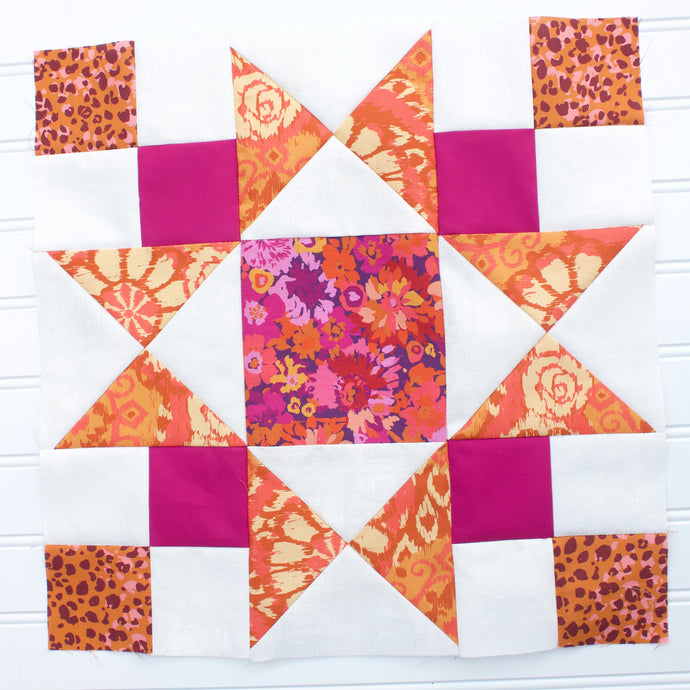 Block #6 and Block #7: Whatchamacallit Quilt