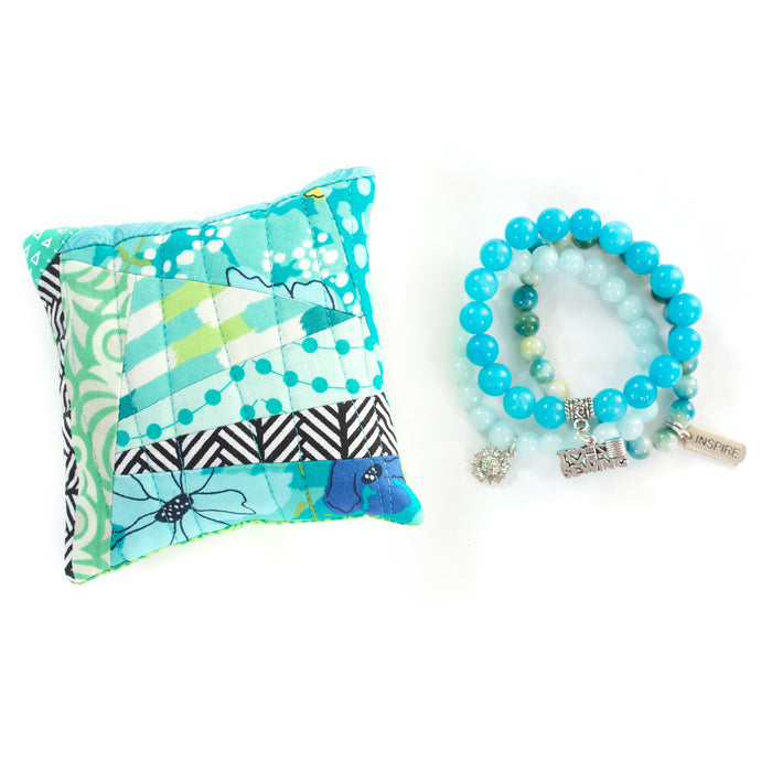 Capri - Pin Cushion and Bracelet Set