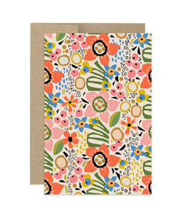 Fresh Cut Flowers Notecard Set
