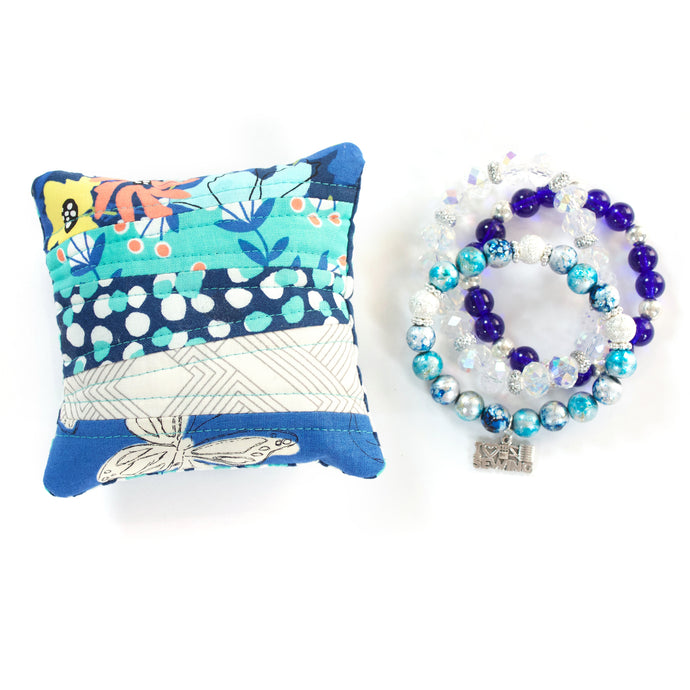 Royal - Pin Cushion and Bracelet Set