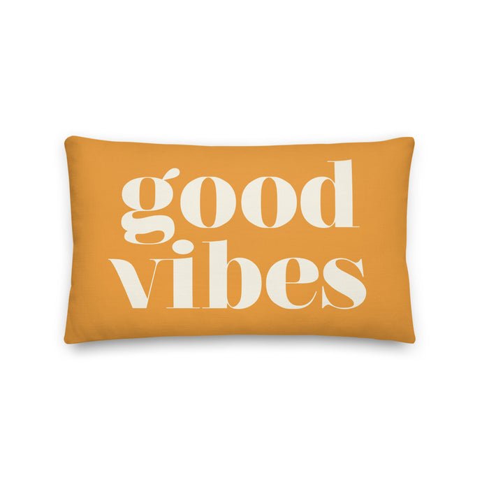 Good Vibes Pillow