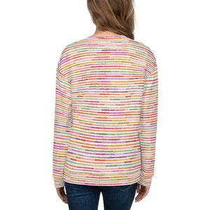 Rainbow Strip Sweatshirt