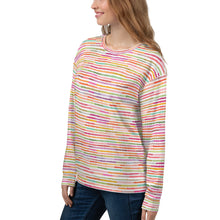 Load image into Gallery viewer, Rainbow Strip Sweatshirt