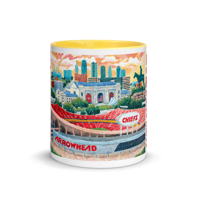 Chiefs Kingdom Mug with Color Inside