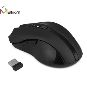2017 Cordless Wireless Mouse Gaming 2.4GHz Optical Wireless Mouse Mice for Laptop PC Computer +USB Receiver#30 - Modern Materials