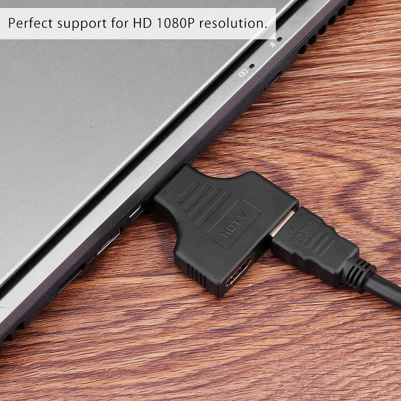 FORNORM 1080P 1.4 HDMI Port Male To 2 Female 1 In 2 Cable Switch Out Splitter Adapter Converter For HD TV Tablet Best Selling - Modern Materials