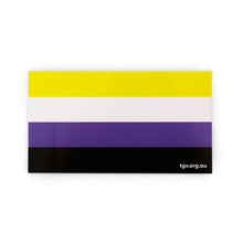 Load image into Gallery viewer, Non-Binary Flag Sticker