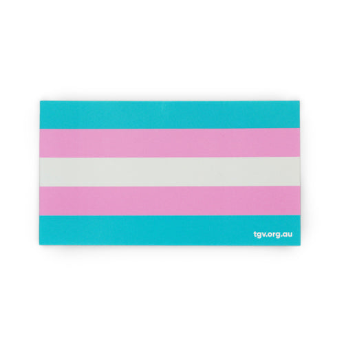 Trans Pride Flag Sticker
