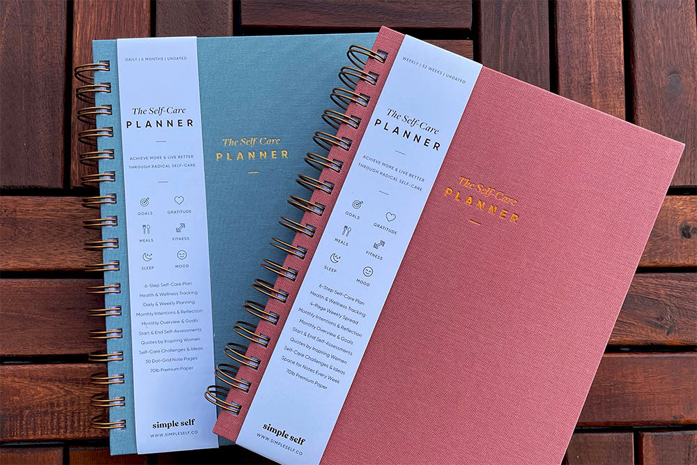 Simple Self Planner daily & weekly edition