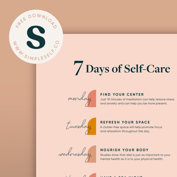 7 Days of Self-Care