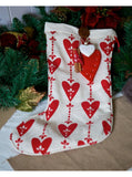 Personalised Love Christmas Luxury Stocking