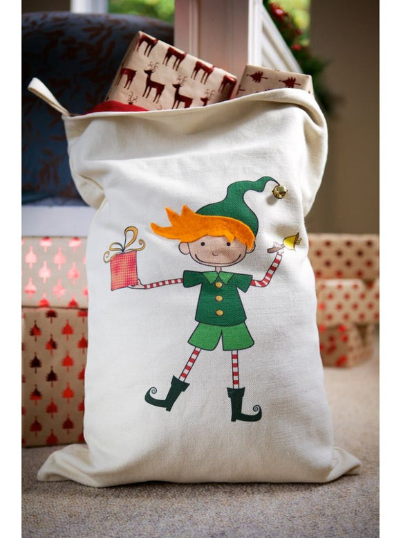 Personalised Elf Character Sack