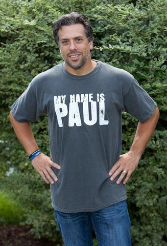 My Name Is Paul Grey T-Shirt