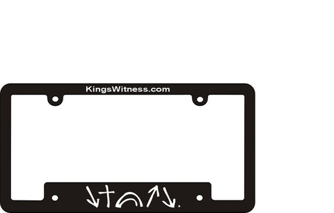 Witness License Tag Frame *FREE SHIPPING