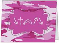 Witness Note Cards - Pink Camo