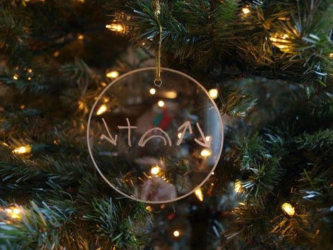 Witness Glass Christmas Ornament