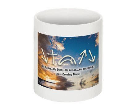 Witness Mug - Clouds w/ Description