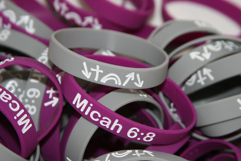King's Witness Bracelet / Micah 6:8 FREE SHIPPING