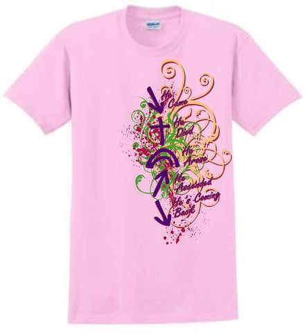 Witness T-Shirt (Pink Art)