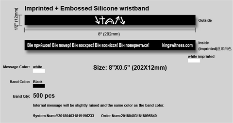 Custom Witness Bracelets