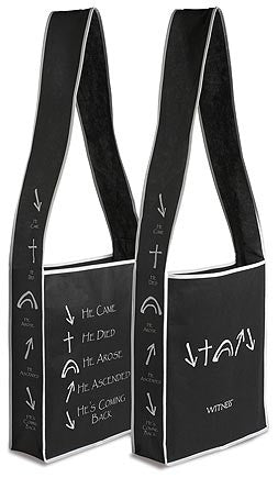 Witness Messenger Bag - Black (Package of 6)
