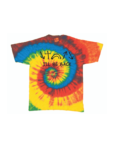 Witness Tie Dye T-Shirt (I'll Be Back)