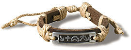 Witness Leather Bracelet (Package of 12)