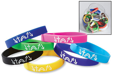A Bit Smaller Size Witness Silicone Bracelets in Singles with FREE SHIPPING!