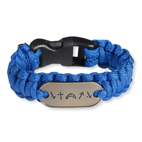 Witness Survival Bracelet - Blue (FREE SHIPPING)